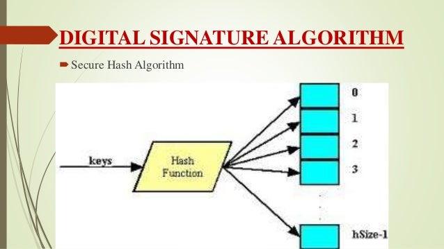 Digital signatures ppt |authorstream.