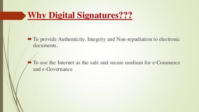 Digital signature seminar ppt.