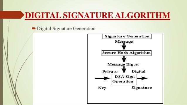Seminar ppt on digital signature