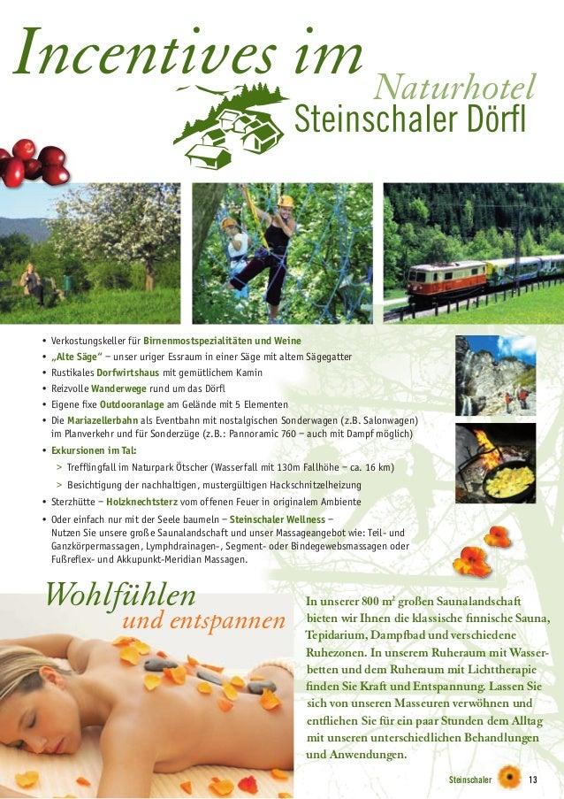 """Steinschaler 13 Naturhotel Incentives im • Verkostungskeller für Birnenmostspezialitäten und Weine • """"Alte Säge"""" – unser u..."""