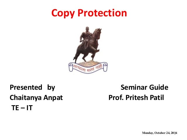 Software Protection Techniques