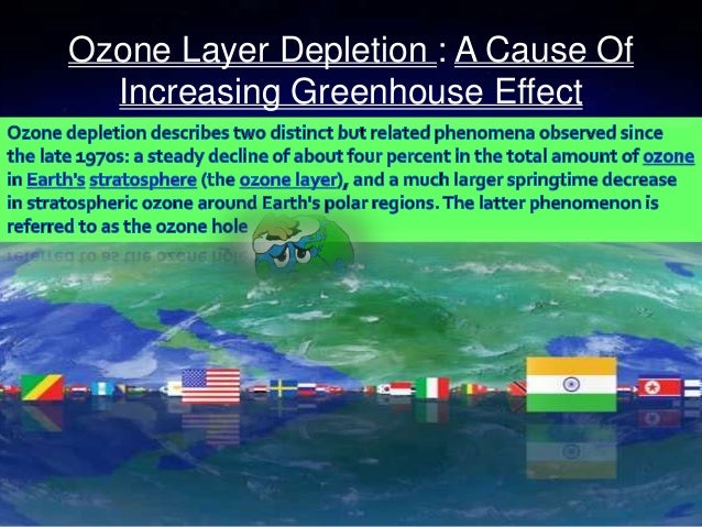 the ozone layer and the greenhouse effect essay Difference between ozone depletion and green house effect (ozone layer) and a much bigger this is referred to as the ozone hole the greenhouse effect causes.
