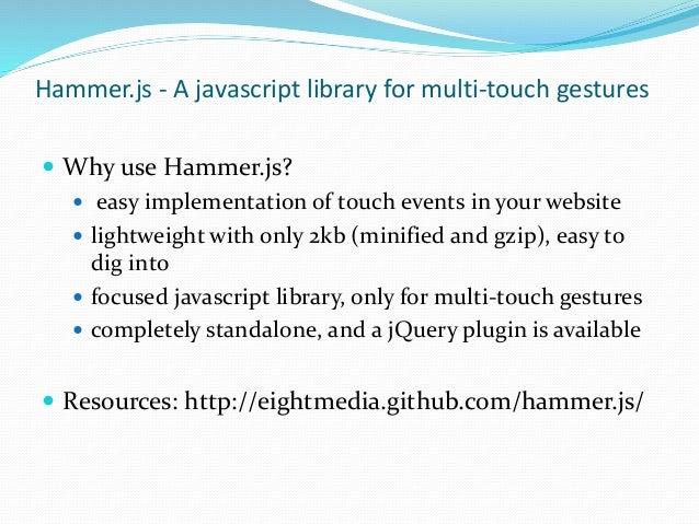 Handy JS Libraries