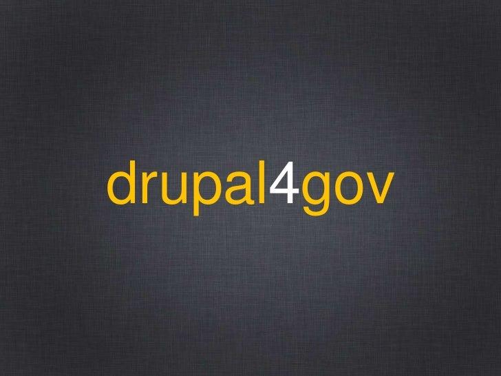 drupal4gov
