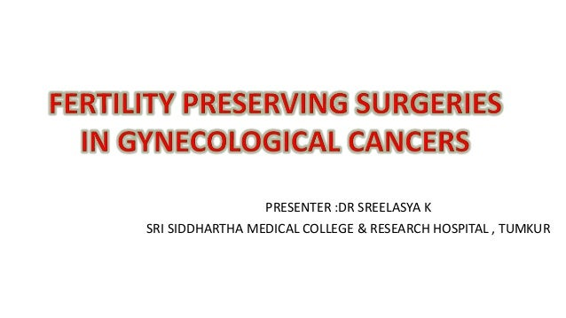 Fertililty Sparing Surgeries In Gynecological Cancers