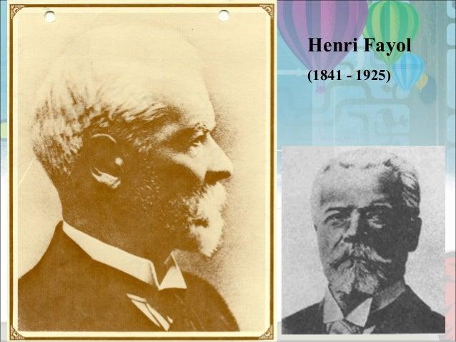 Henri Fayol Contribution to Management