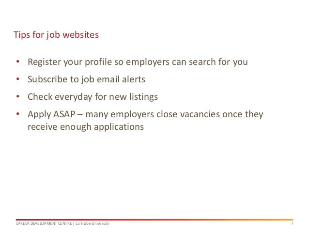 what is the best way to find a job