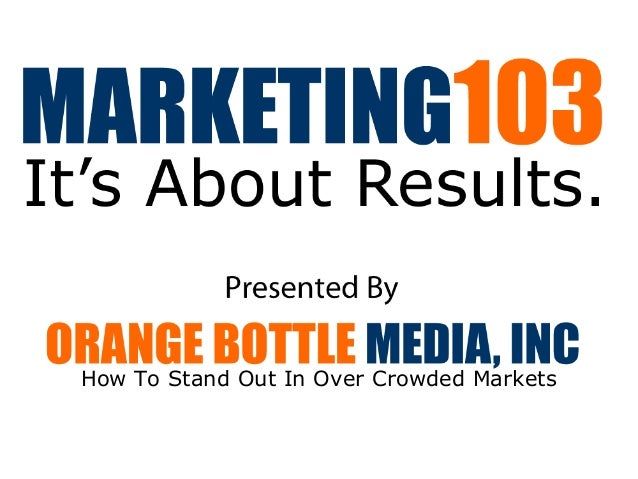 How To Stand Out In Over Crowded Markets