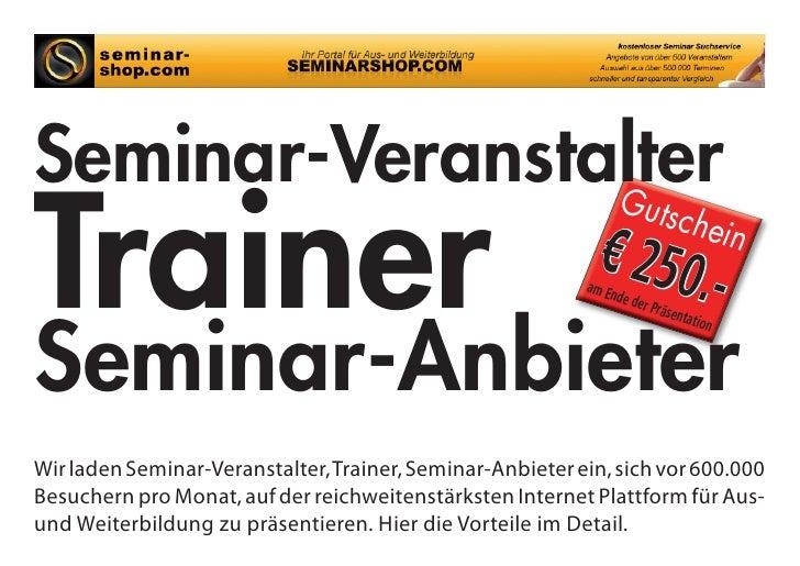 Seminar-Veranstalter Trainer                 Gu                                                      tsche                ...