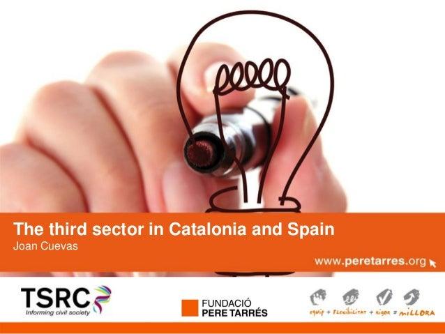 Nom de la presentacióTitular sector in Catalonia and SpainThe thirdJoan CuevasSubtítol