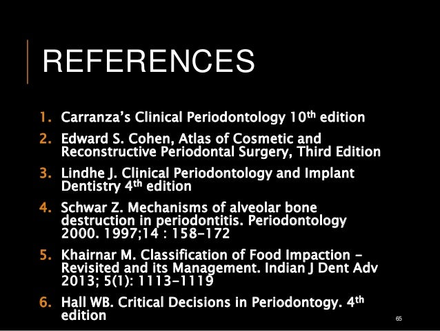 Carranza's clinical periodontology 11th edition