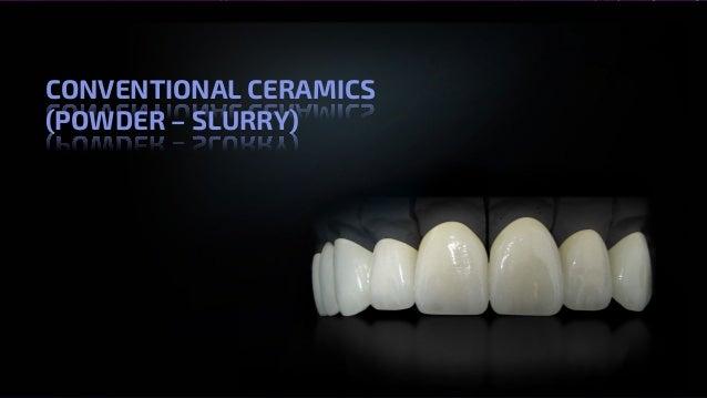 All Ceramics – Dr. Nithin Mathew CONVENTIONAL CERAMICS (POWDER – SLURRY)