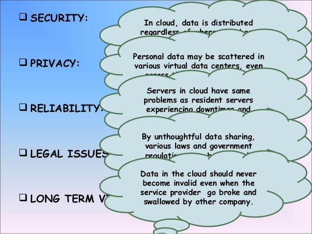 cloud computing architecture and vulnerabilies