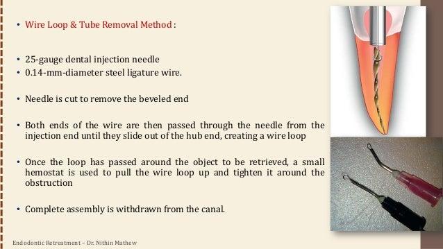 Endodontic Retreatment – Dr. Nithin Mathew 84 • Other Methods: • Endo Extractor (Brasseler USA) • Masserann Kit (Medidenta...