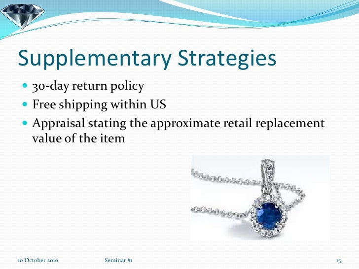 blue nile and diamond retailing case Case summary facts  defendant blue nile, an online diamond and jewelry  retailer, was not an authorized reseller of plaintiff's diamonds.