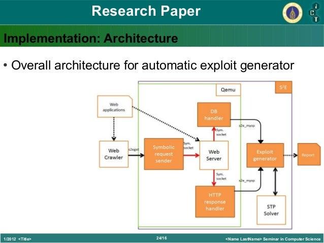 page   of the sample SCIgen paper  Scientific net
