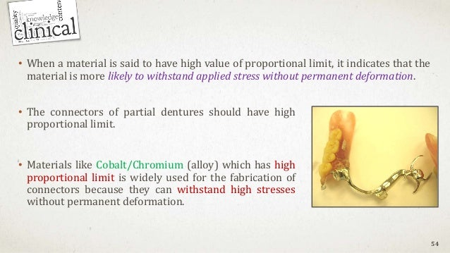 • When a material is said to have high value of proportional limit, it indicates that the material is more likely to withs...