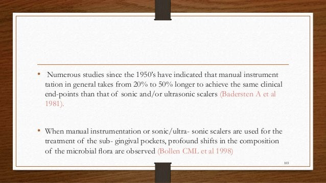 • Numerous studies since the 1950's have indicated that manual instrument tation in general takes from 20% to 50% longer t...