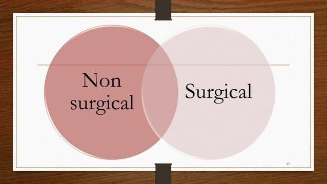 Non surgical Surgical 97