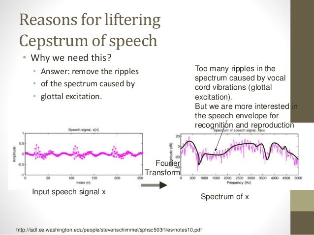 speech signal processing Speech processing is the study of speech signals and the processing methods of these signals the signals are usually processed in a digital representation, so speech processing can be regarded as a special case of digital signal processing, applied to speech signal aspects of speech processing includes the acquisition.