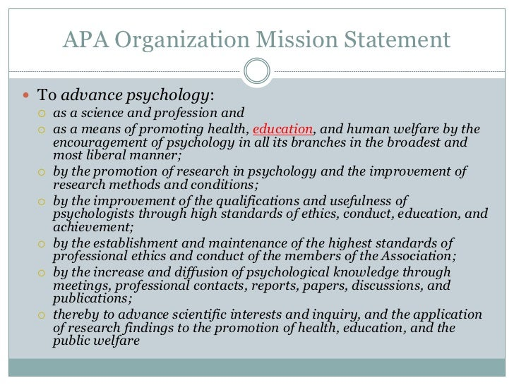 apa style thesis statement Learn how to use the apa format to write your problem and purpose statement for your dissertation to ensure you don't lose any marks for formatting apa format is.