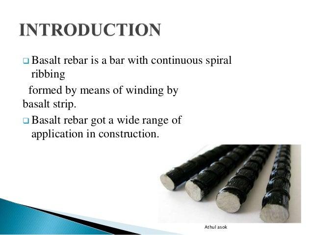 Seminar basalt fiber rebars
