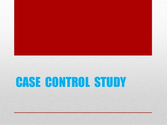 nested case control study bias Posts tagged cohort nested case-control study  so there is less risk of occurrence of the information bias characteristics of the classic case-control studies,.