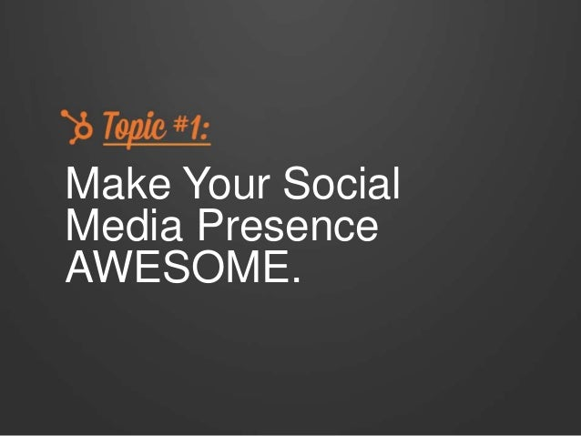 Secrets to Success on Social Media Slide 3