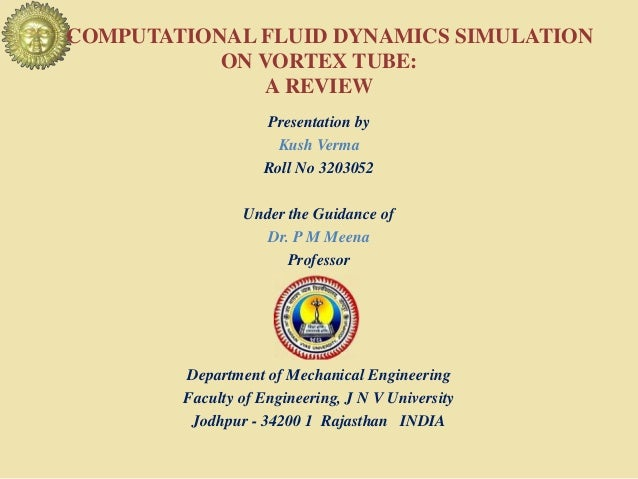 A literature review on Computational fluid dynamic