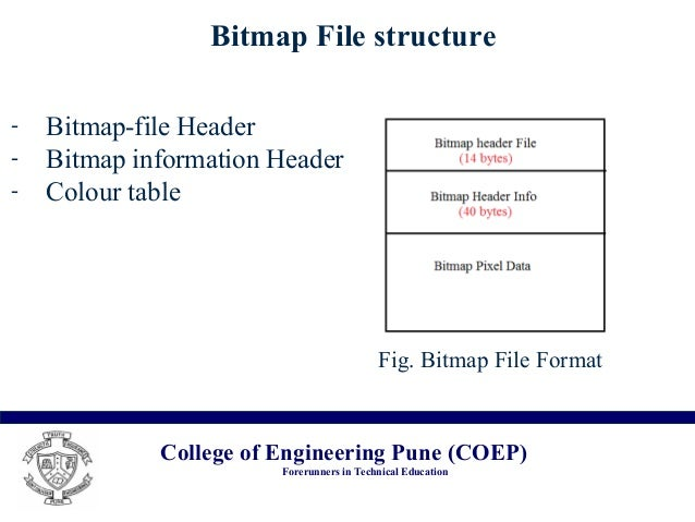 bmp image data format