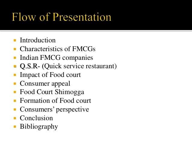characteristics of fmcg sector