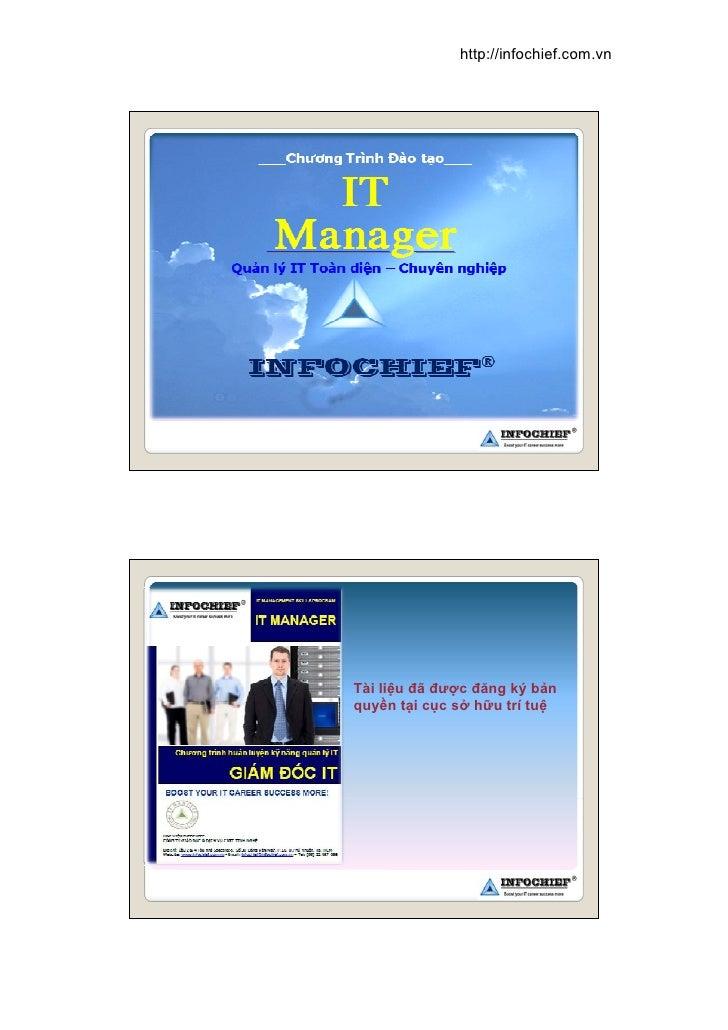 http://infochief.com.vn     Tài liệu đã được đăng ký bản quyền tại cục sở hữu trí tuệ