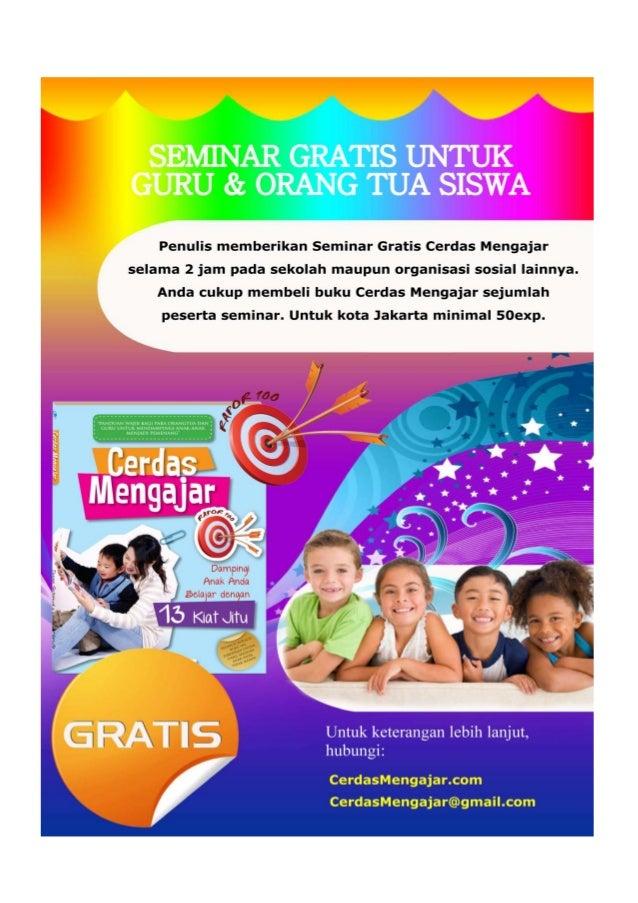 Seminar Gratis Cerdas Mengajar