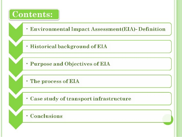 Examples of Completed Health Impact Assessments (HIA)