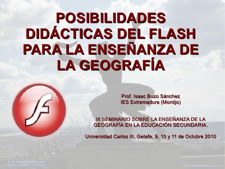 III Seminario sobre la enseñanza de la Geografía en Educación Secundaria