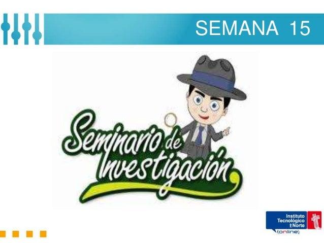 SEMANA 15