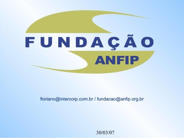 Seminario ANFIP sobre Previdência Social