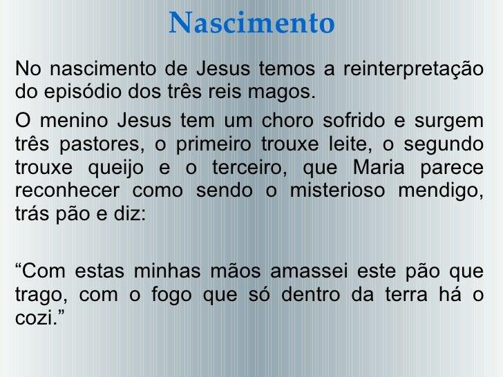O Evangelho Segundo Jesus Cristo 3ª A 2011