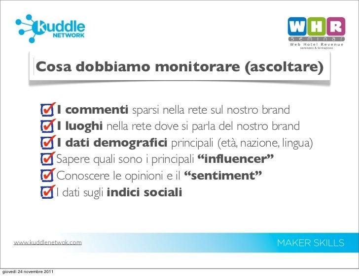 Social Media Monitoring and Metrics Slide 2