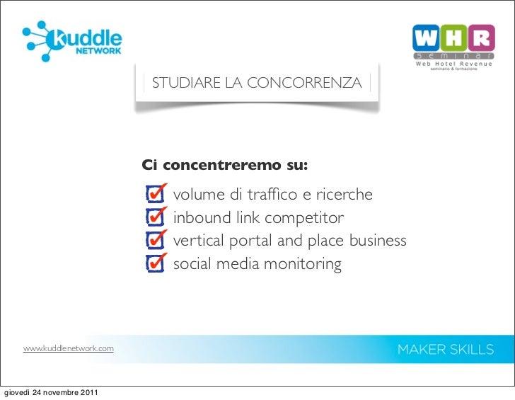 Strumenti per un piano operativo di web marketing turistico Slide 2