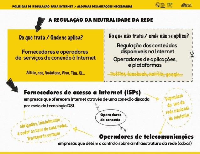 Políticas de regulação para Internet Slide 3