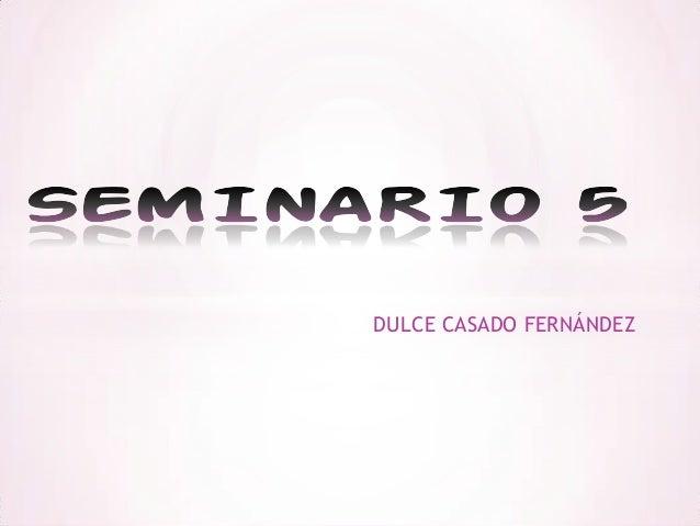 DULCE CASADO FERNÁNDEZ