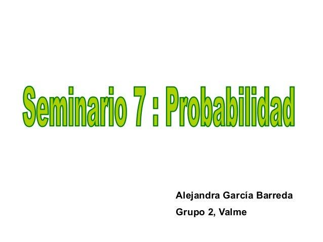 Alejandra García BarredaGrupo 2, Valme