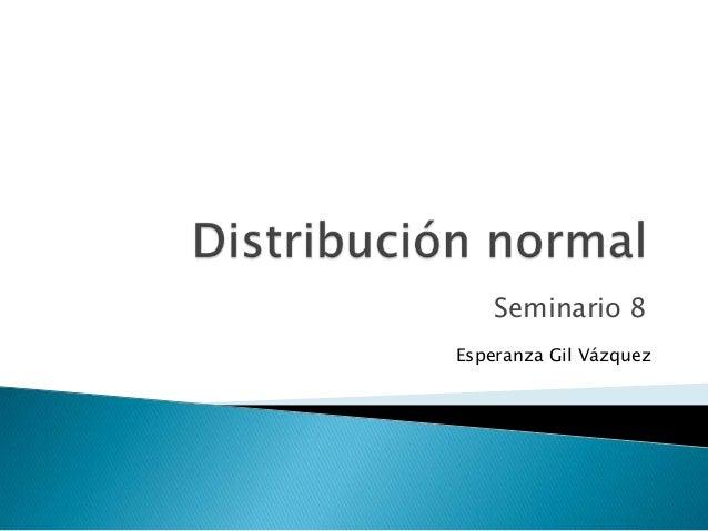 Seminario 8Esperanza Gil Vázquez