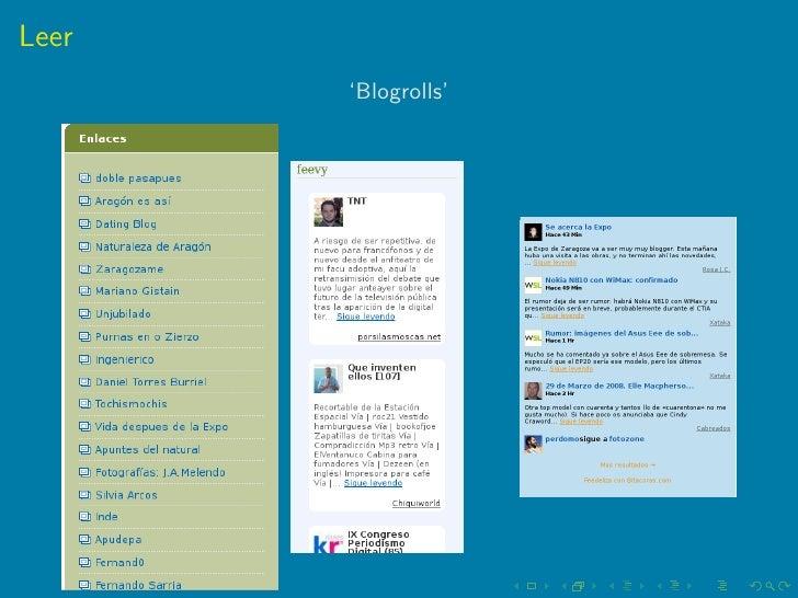El blog como herramienta de difusión de la información