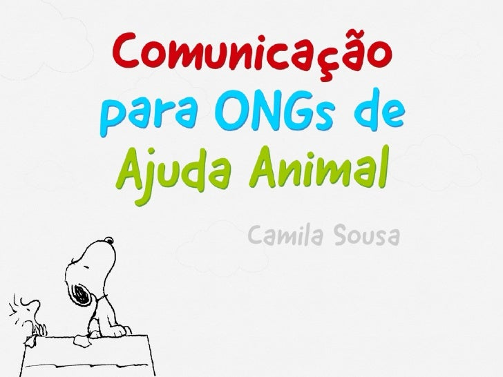 Comunicação para ONGs de Ajuda Animal