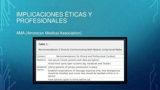 PROFESIONALISMO MEDICO La figura del medico en redes sociales, ya sea desde el punto de vista profesional o personal es un...