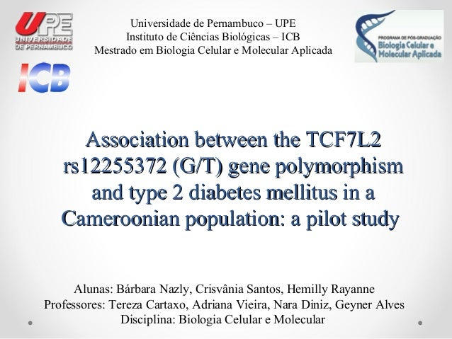 Association between the TCF7L2Association between the TCF7L2 rs12255372 (G/T) gene polymorphismrs12255372 (G/T) gene polym...