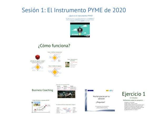 20160916_Cadiz_Taller de preparación de propuestas de FASE 2 de Instrumento PYME Slide 3
