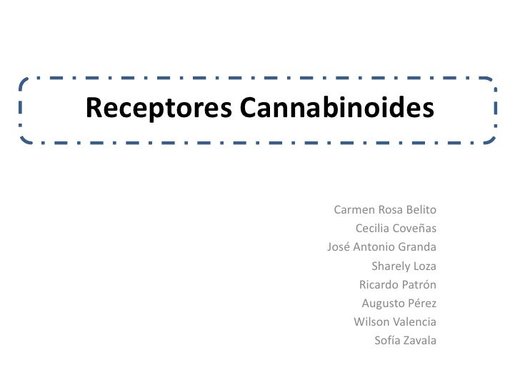 Receptores Cannabinoides                    Carmen Rosa Belito                      Cecilia Coveñas                 José A...